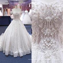 OEM / ODM China nach Maß muslimischen Luxus Hochzeit Kleid 2017 Wgf182