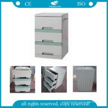 AG-Bc001 mit drei Schubladen Krankenhaus ABS Bedside Cabinet