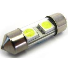 White Canbus 12V 31mm 2SMD 5050 LED Car Auto Light