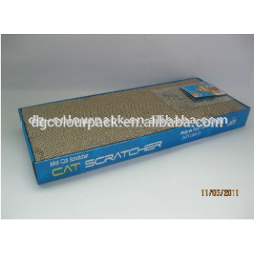cardboard scratcher with colour box match free catnip