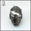 Antique design Iron Man helmet key rings