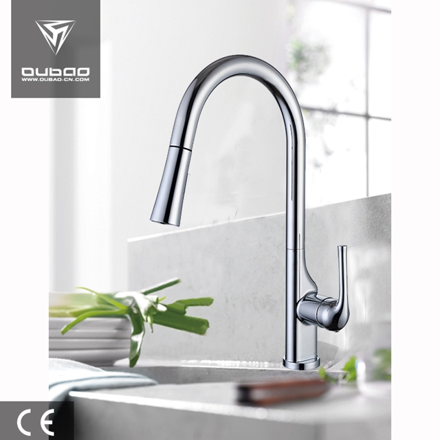 Long Neck Kitchen Faucet Ob D47