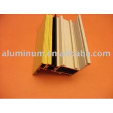 Perfis de alumínio para janelas e portas