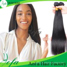Extensión brasileña vendedora caliente suave del pelo de la Virgen del pelo de Remy del 100%
