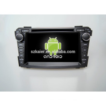 Quad core! Voiture dvd avec lien miroir / DVR / TPMS / OBD2 pour 7 pouces écran tactile quad core 4.4 Android système Hyundai I40