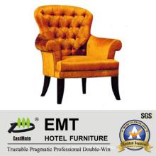 Conception confortable avec chaise d'hôtel en bois (EMT-HC05)