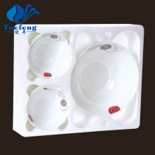Heat Resistant Opal Glassware-7PCS Fruit Set