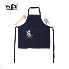 avental de couro denim, avental de chef denim, avental de brim