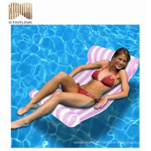 venta caliente inflable flamenco piscina flotante cama fabricantes