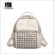 Designer Branded Hot Selling 2016 New Popular wholesale fashion leather backpack for men