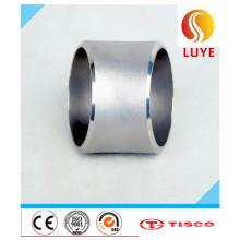 Acessórios de aço inoxidável Laminado a quente de 45 graus cotovelo
