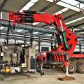 32 Ton Lifting Capacity Crane  Knuckle Telescopic Boom Truck Mounted Crane
