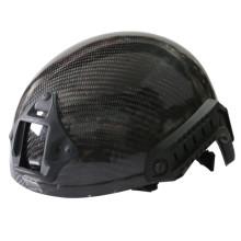 Deportes al aire libre de fibra de carbono de ejército CS táctico combate militar casco casco