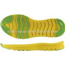 Suela para correr duradera 2013 para la fabricación de calzado