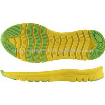 2013 semelles de course durables pour la fabrication de chaussures