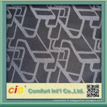 Dernière conception Polyester Jacquard Chair Seat Cover Fabric