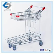 Foldablle Warehouse Cargo Trolley