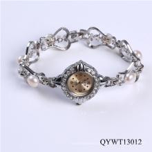 Neue Produkte Mode Mädchen Perle Damenuhr