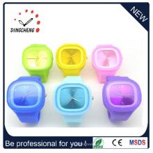 Señoras reloj pulsera Singapur Quartz Movt reloj de cerámica (DC-1309)