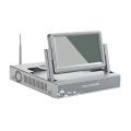 7.0 дюймов ЖК-4ch 8-канальный беспроводной камеры видеонаблюдения nvr комплект беспроводной камеры комплект