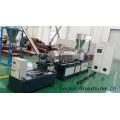 EVA with CaCo3/Talc/TiO2 filler compound extrusion plant