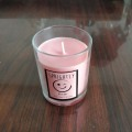 Glas Container Natural Soy Wax Aroma Candle
