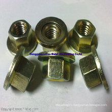 Flange Nuts with SGS, ISO9001: 2008, RoHS