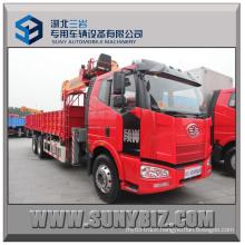 240HP Faw J6m Mobile Crane Truck 6X4 Truck Mounted Crane