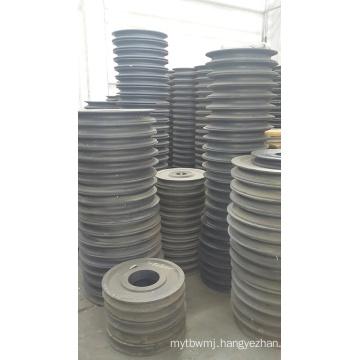 Standard Sizes Casting Steel Large Diameter Belt Pulley