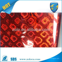High quality custom holographic photo 3d lamination film