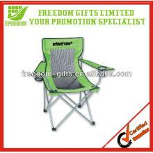 Cadeira de dobradura da malha relativa à promoção personalizada da impressão