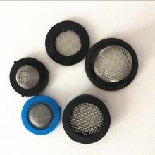 19 20 23 25 CM Durchmesser Schwarz Duschfilter Filterkappe Mit Gummirand