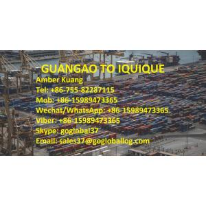 Transport morski Shantou Guangao do Chile Iquique