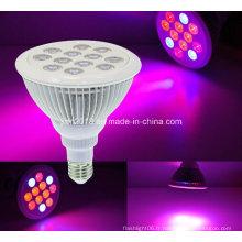 12W E27 AC85-265V LED Greenhouse Grow Lamp