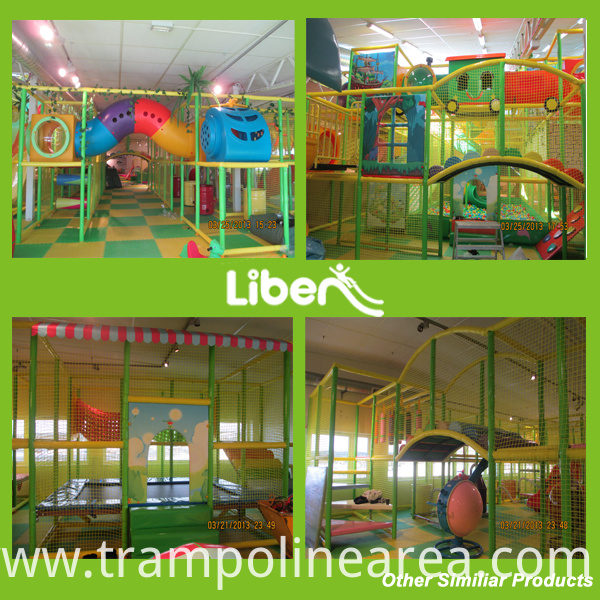 Inside Playground Equipment