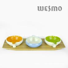Plato colorido del accesorio del tabletop