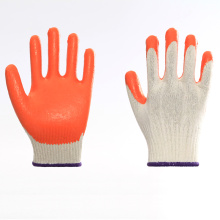 Multicolor Firm Nylon Latex Work Labor Gloves