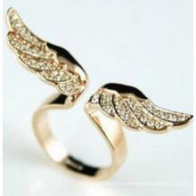 Aleación con el anillo de diamante / la joyería de la manera / el anillo de dedo de la manera (XRG12162)