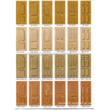 Peau de porte à texture / Peau de porte en mélamine / Peaux de porte