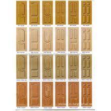 Текстурная дверная кожа / кожа меламиновой двери / дверные шкуры