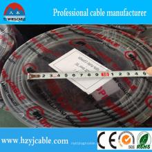 2 * 1mm2 Fabrik-flache Hüllen-Energien-Kabel-Draht-heißer Verkauf im Afrcia Markt