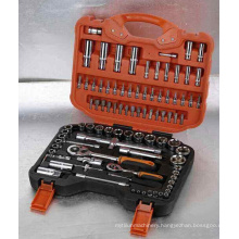 """94PCS 1/2""""Dr. & 1/4""""Dr. Tool Kit"""