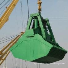 Clamshell 6-12m3 pour grue de 25 tonnes