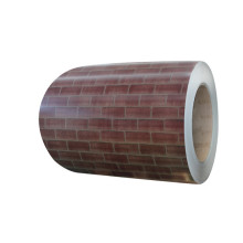 Brick color steel sheet