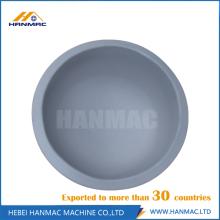 Aluminum alloy steel seamless cap