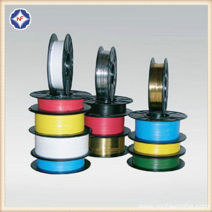 Colorful Plastic Twist Tie Reel