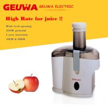 Guewa Wide Feed Eröffnung Apfel-Saftpresse für den Heimgebrauch