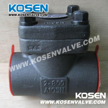 API 602 Forged Steel Check Valve A105 800lb