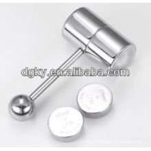 Body jewelry making supplies high quality factory price vibrating body jewelry