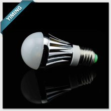 3W aluminio regulable bombilla LED luces